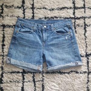J Crew Denim Shorts size 28 100% cotton